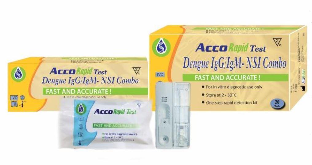 Acco Dengue IgG- IgM-NS1 Ag Combo